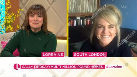 Stock Photo of Lorraine Kelly and Sally Lindsay