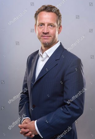 Stock Image of Presenter Mark Pougatch