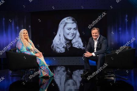 Piers Morgan and Gemma Collins.