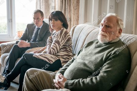 Steven Robertson as Mark Bradwell, Sunetra Sarker as Stella Bradwell and James Cosmo as Bill Bradwell