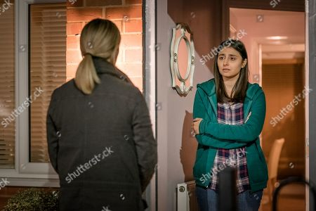 Morven Christie as DC Lisa Armstrong and Jade Greyul as Lateesha