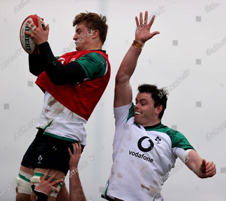 Editorial picture of Ireland Rugby Squad Training, IRFU High Performance Centre, Sport Ireland Campus, Blanchardstown, Dublin - 05 Feb 2021