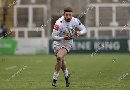 Alex Cuthbert of Exeter Chiefs