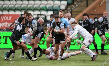Editorial picture of Newcastle Falcons v Exeter Chiefs, Gallagher Premiership, Rugby, Kingston Park, Newcastle, UK - 7 Feb 2021