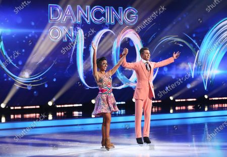 Editorial photo of 'Dancing On Ice' TV show, Series 13, Episode 4, Hertfordshire, UK - 07 Feb 2021