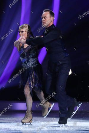 Jason Donovan and Alexandra Schauman