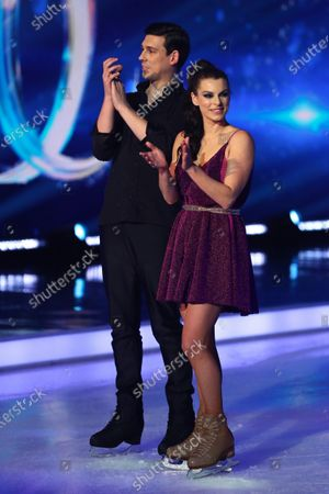 Matt Richardson and Vicky Ogden are voted off after the skate-off