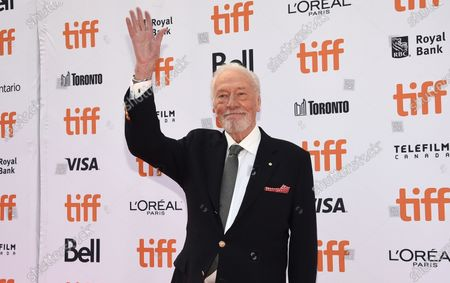 """Christopher Plummer attends the premiere for """"Knives Out"""" on day three of the Toronto International Film Festival, in Toronto. Plummer, the dashing award-winning actor who played Captain von Trapp in the film """"The Sound of Music"""" and at 82 became the oldest Academy Award winner in history, has died. He was 91. Plummer died Friday morning, Feb. 5, 2021, at his home in Connecticut with his wife, Elaine Taylor, by his side, said Lou Pitt, his longtime friend and manager"""
