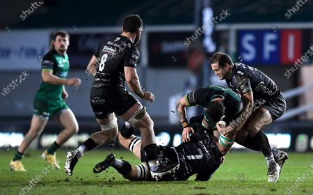 Editorial photo of Guinness PRO14, Rodney Parade, Wales - 05 Feb 2021