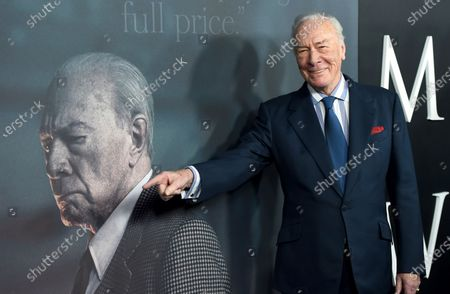 Editorial photo of Obit Christopher Plummer, Beverly Hills, United States - 18 Dec 2017