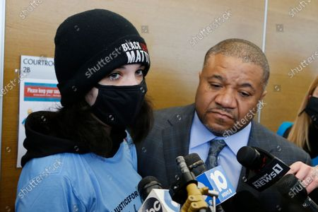 Editorial picture of Racial Injustice Police, Columbus, United States - 05 Feb 2021