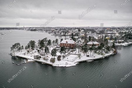 Editorial image of Daniel Ek peninsula purchase, Djursholm, Sweden - 26 Jan 2021