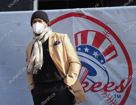 Editorial photo of Yankee Stadium Covid Vaccine Mega-Site, New York, USA - 05 Feb 2021
