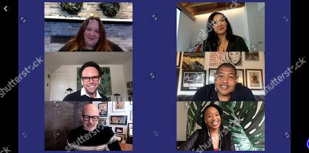 Stock Photo of Walton Goggins, Rob Corddry, Michaela Watkins, Omar Miller, Maya Lynne Robinson