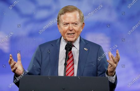 Editorial picture of Lou Dobbs Canceled, Oxon Hill, United States - 24 Feb 2017