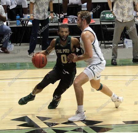 Editorial image of NCAA Basketball Cal Poly at Hawaii FEB05, Honolulu, USA - 05 Feb 2021