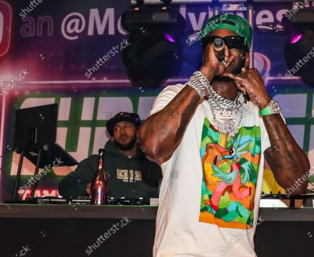 Stock Photo of 2 Chainz performs