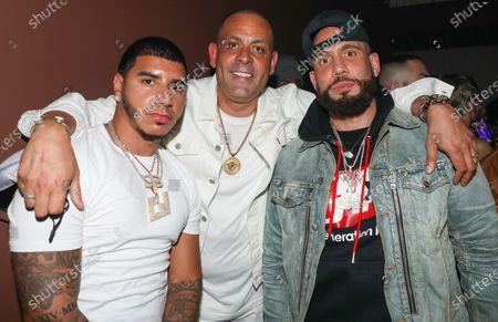 CJ, James Cruz and DJ Drama