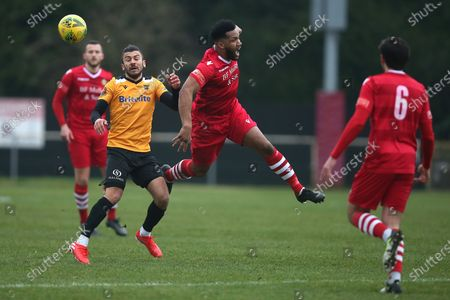 Editorial image of Hornchurch vs Maidstone United, Buildbase FA Trophy, Football, Hornchurch Stadium, Upminster Bridge, Essex, United Kingdom - 06 Feb 2021