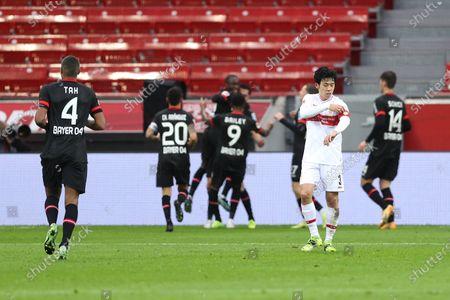 Editorial photo of Bayer 04 Leverkusen v VfB Stuttgart, Germany - 06 Feb 2021