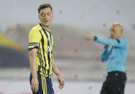 Editorial photo of Fenerbahce vs Galatasaray, Istanbul, Turkey - 06 Feb 2021