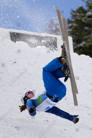 Editorial picture of WCup Freestyle Aerials Skiing Women, Deer Valley, United States - 06 Feb 2021