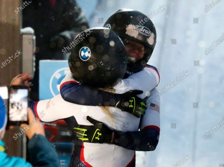 Editorial picture of Bobsled Worlds, Altenberg, Germany - 06 Feb 2021