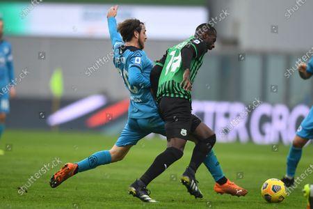 Editorial picture of Soccer: Serie A 2020-2021 : Sassuolo 1-2 Spezia, Reggio Emilia, Italy - 05 Feb 2021