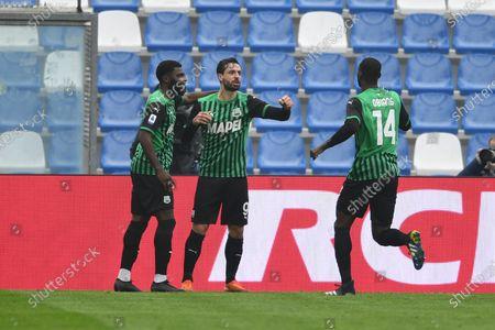 Editorial image of Soccer: Serie A 2020-2021 : Sassuolo 1-2 Spezia, Reggio Emilia, Italy - 05 Feb 2021