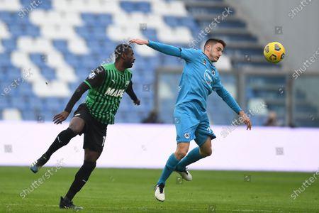 Editorial photo of Soccer: Serie A 2020-2021 : Sassuolo 1-2 Spezia, Reggio Emilia, Italy - 05 Feb 2021