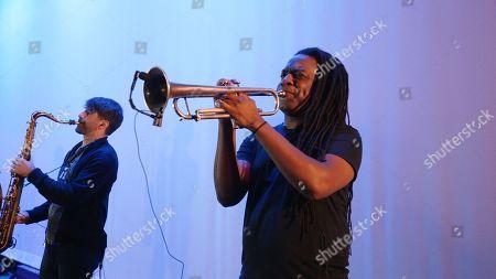 PJ Morton performance with Zacardi Cortez and Darrel Walls