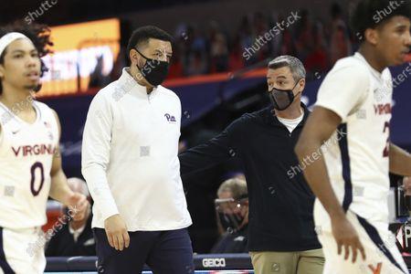 Editorial photo of Pittsburgh Virginia Basketball, Charlottesville, United States - 06 Feb 2021