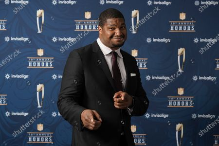Editorial image of NFL Honors Super Bowl Football, Tampa, United States - 05 Feb 2021