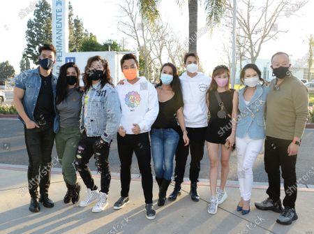 Kevin Kreider, Kim Lee, Guy Tang, Kane Lim, Kelly Mi Li, Cherie Chan, Christine Chiu