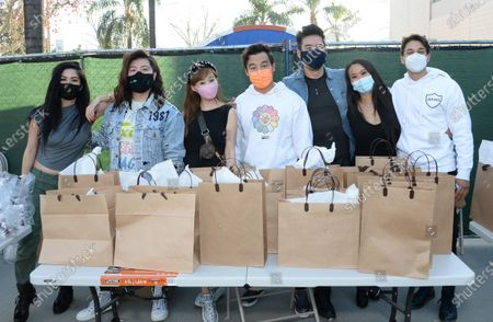 Editorial picture of Netflix's Bling Empire donates to frontline medical workers, Baldwin Park, California, USA - 06 Feb 2021