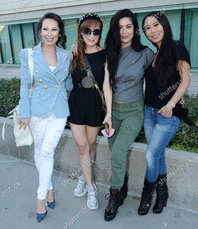 Stock Image of Christine Chiu, Cherie Chan, Kim Lee and Kelly Mi Li