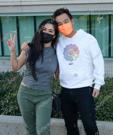 Kim Lee and Kane Lim