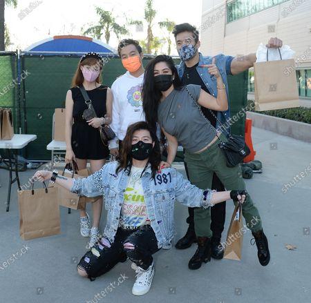 Stock Photo of Guy Tang, Cherie Chan, Kane Lim, Kevin Kreider, Kim Lee
