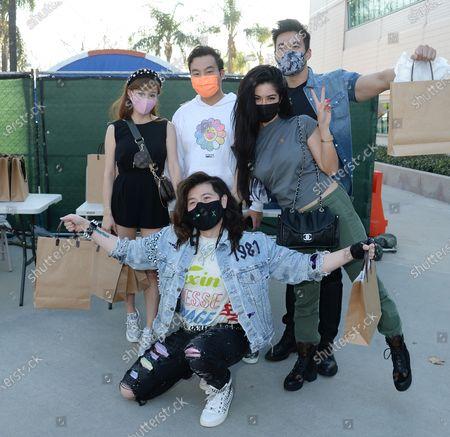 Guy Tang, Cherie Chan, Kane Lim, Kevin Kreider, Kim Lee