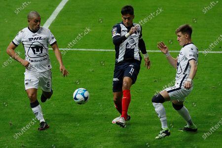 Editorial picture of Monterrey vs. Pumas UNAM, Guadalupe, Mexico - 06 Feb 2021