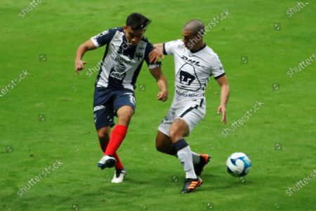 Editorial photo of Monterrey vs. Pumas UNAM, Guadalupe, Mexico - 06 Feb 2021