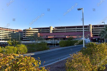 Stock Image of Clark County will vote on renaming McCarran International Airport after Senator Harry Reid in Las Vegas, Nevada on February 05, 2021.