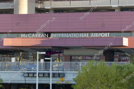 Clark County will vote on renaming McCarran International Airport after Senator Harry Reid in Las Vegas, Nevada on February 05, 2021.