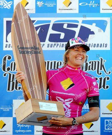 Stock Photo of Winner Stephanie Gilmore