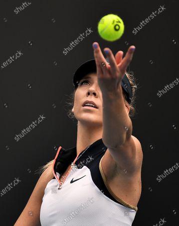 Editorial picture of Australian Open Tennis, Day One, Melbourne Park, Australia - 08 Feb 2021