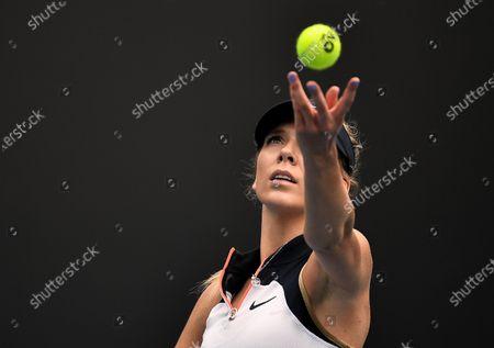 Editorial photo of Australian Open Tennis, Day One, Melbourne Park, Australia - 08 Feb 2021