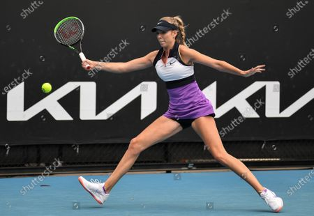 Stock Picture of Katie Boulter in action during her first round match