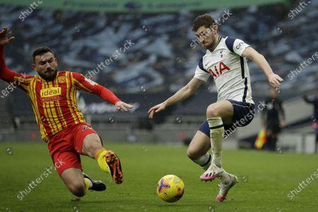 Editorial photo of Tottenham Hotspur vs West Bromwich Albion, London, United Kingdom - 07 Feb 2021
