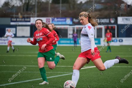 Editorial photo of Coventry United v Lewes, Women's Championship, Butts Park Arena Coventry, England - 07 Feb 2021