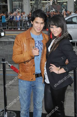 Stock Photo of Boo Boo Stewart and Fival Stewart